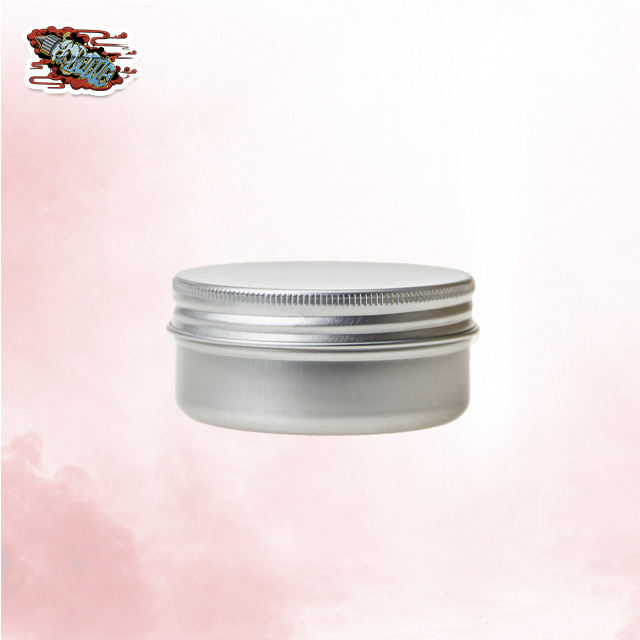 5g 10g 15g 30g 50g 60g 80g 100g 150g CBD aluminum jars&can with screw lid cosmetic frosting glass cream jar