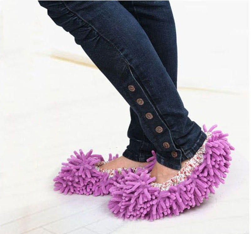 Microfiber Chenille Schone Slippers Mop Caps household cleaning tools accessoires