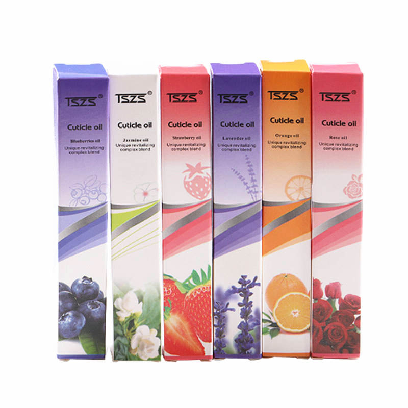 TSZS lavender jasmine Essential nail care cuticle Revitalizing oil pen