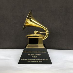 2019 Metal Customized Replica Gold Grammy Award Trophy