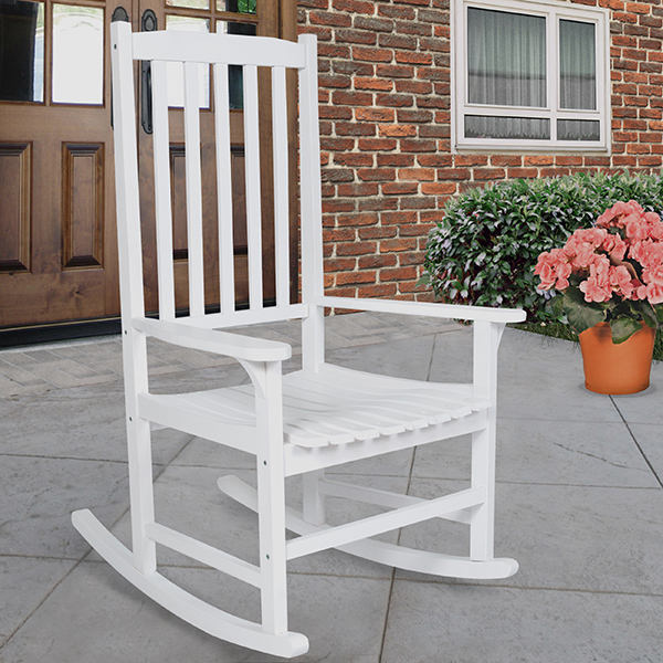 Factory direct sale slat rocking chair