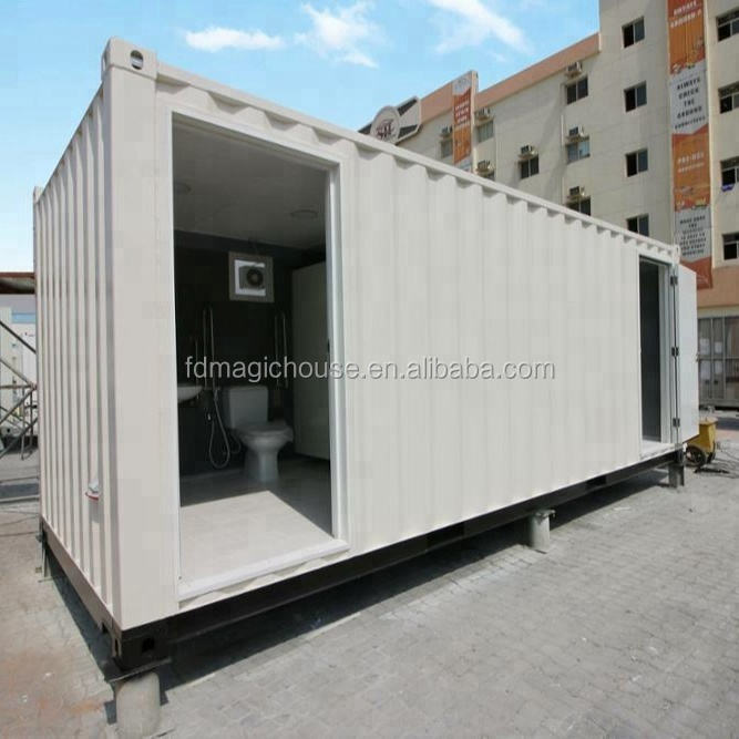 2019 Portable mobile shipping container bathroom design container toilets showers for sale