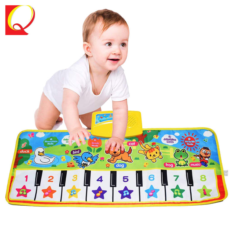 Education Kid Touch Play Carpet Baby Musical Piano Mat