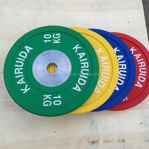 Hot Sale Beautiful Color Gym Bumper Weight Plates With Low Price