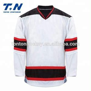 tonton Wholesale blank custom embroidered ice hockey t shirt