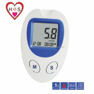 blood glucose monitoring system glucose meter with chilesterol ketone