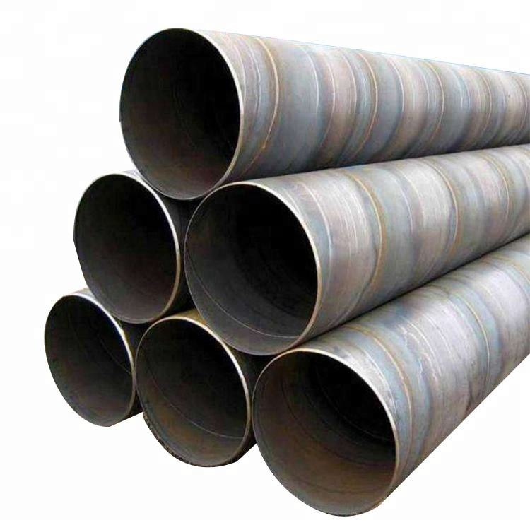 Carbon welded seamless spiral steel pipe for oil pipeline construction