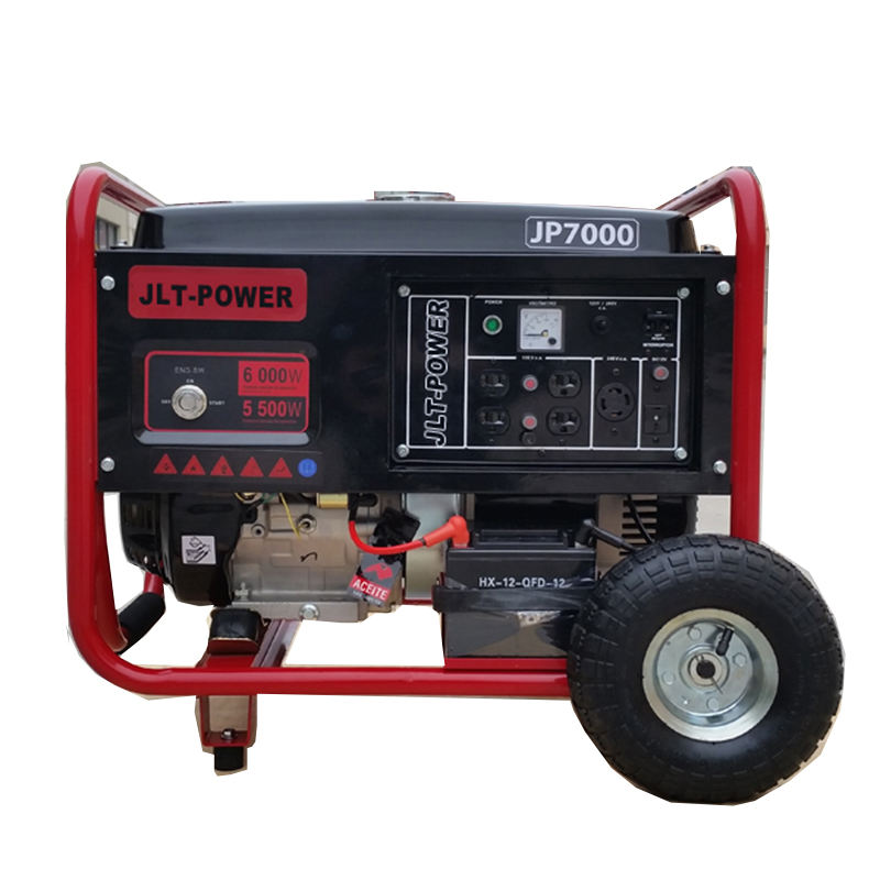 Best offer 220v 50 JLT gerador hz 6.5kw gerador a gasolina Chinês