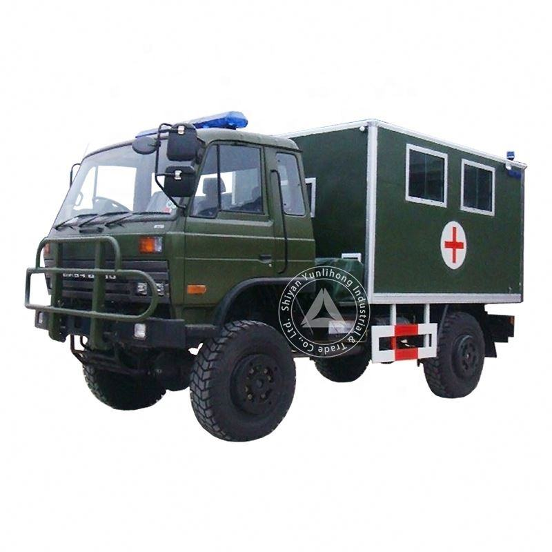 China`s Active Emergency 4x4 Ambulance for sale