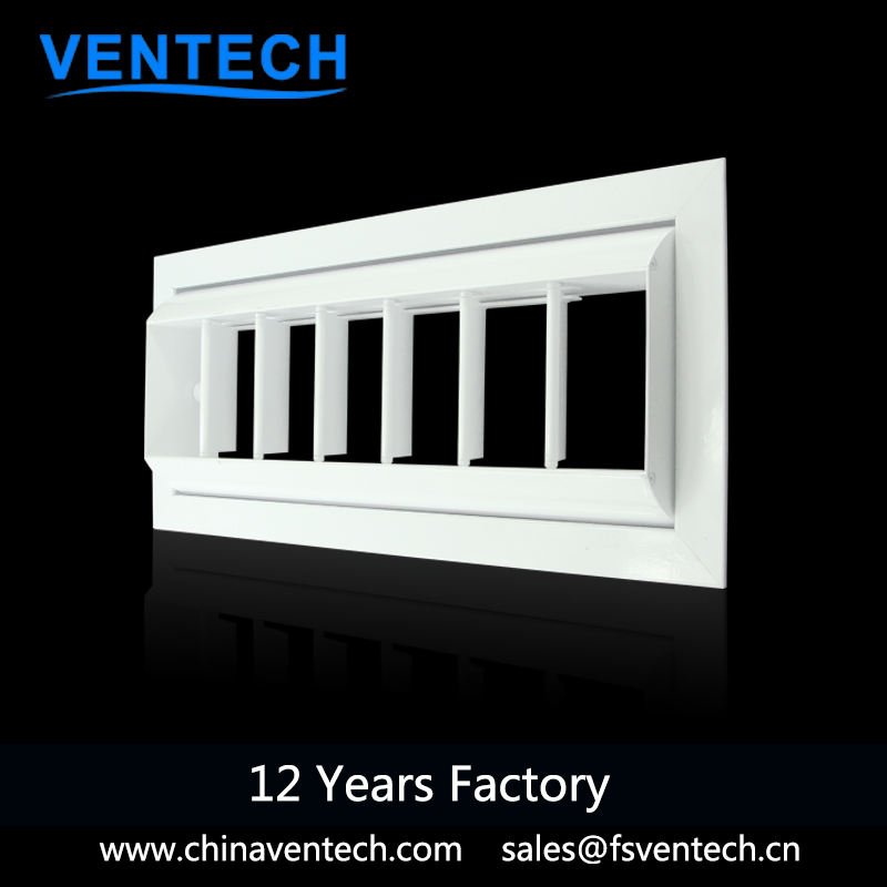 Ventech ventilation type drum jet air outlets diffuser aluminum drum louver