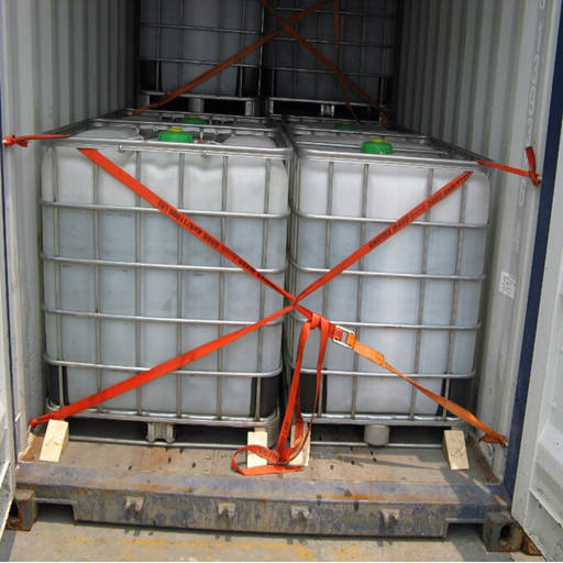 hydrochloric acid liquid in IBC/totes