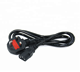 Good Quality BS Standard PC Power Cable for Laptop Computer 1.5M 1.8M 3M