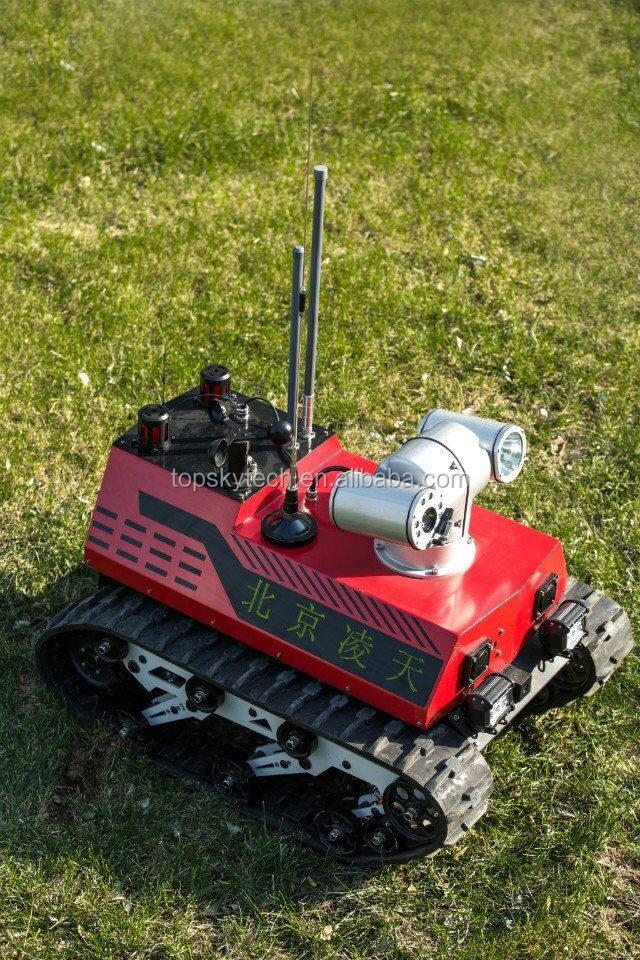 Разведывательный робот для спасения и инспекции