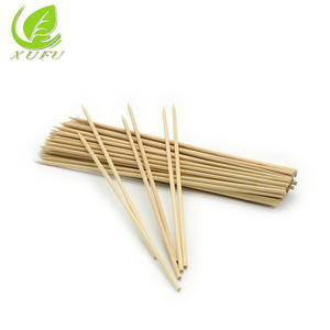 Disposable wooden kebab skewer stick for barbecue
