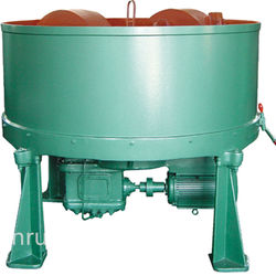 Roller type clay sand mixer, Qingdao sand mixing machine