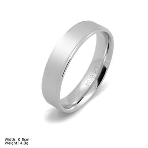 RSA TM01 Casting Jewelry Sterling Silver Plain Ring Lots Sterling Silver Rings