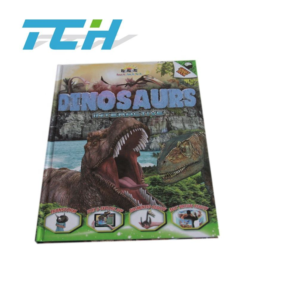 Educational books for children/Dinosaur hardcover books/children book printing