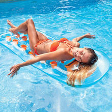 Wholesale Custom Giant Swimming Suntanner Lounger Water Floating Air Inflatable Sea Mattress