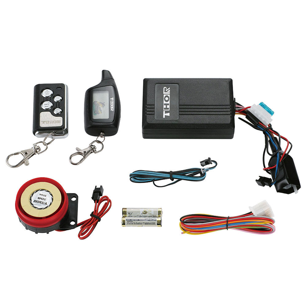 Anti-Theft 2 Way Motor Alarm Sistem