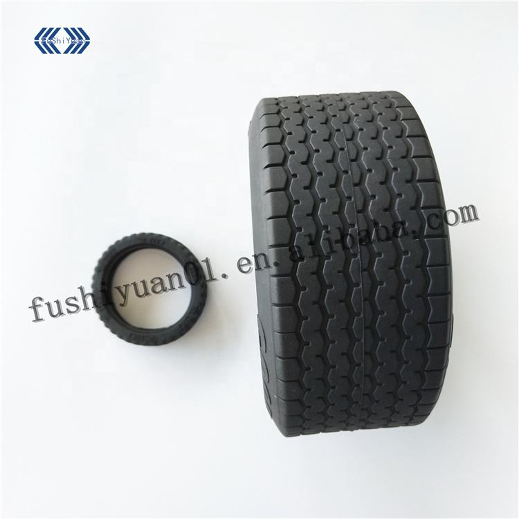 Custom wear-resistant silicone rubber wheel/toy tire with different size