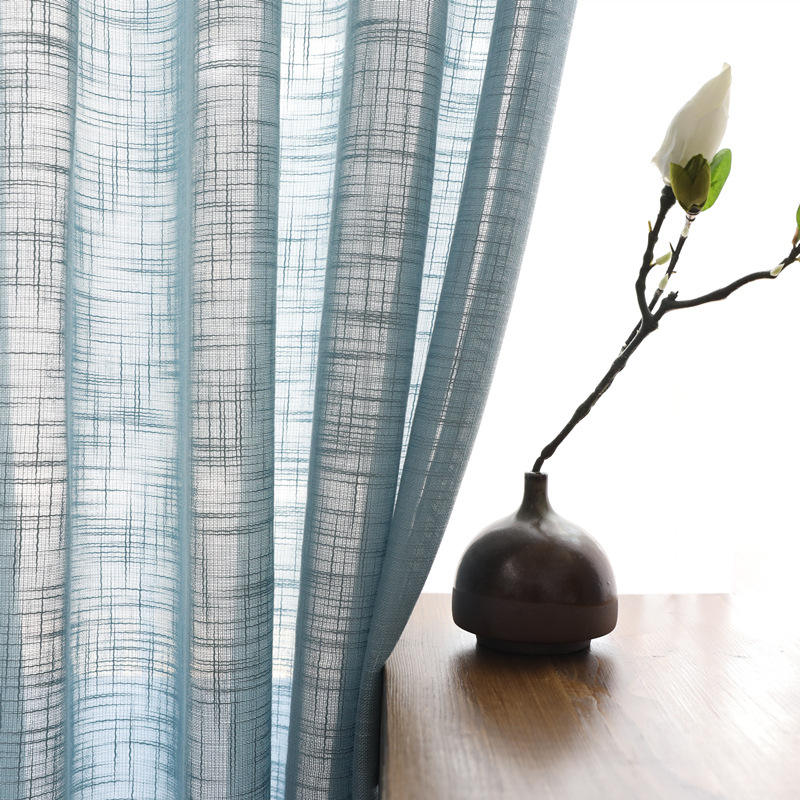 latest design colorful plain voile fabric for windows sheer curtain