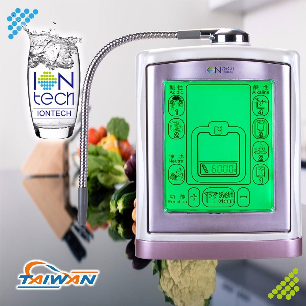 IT-377 Iontech ملموس شاشة LCD <span class=keywords><strong>المياه</strong></span> المعدنية ال<span class=keywords><strong>قلوية</strong></span> <span class=keywords><strong>صانع</strong></span>