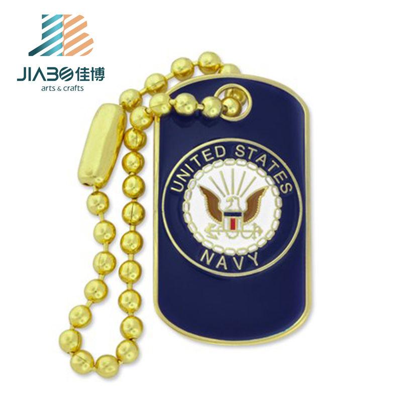 Новинка; Лидер продаж; пользовательские моды золотой медальон с цепочкой для подарков