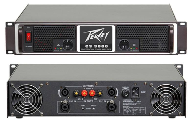 CS 3000 high quality power amplifiers