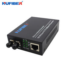 NF-C570T 10/100M Fast Ethernet Multi mode Duplex ST 2km fiber optic to rj45 1310nm media converter