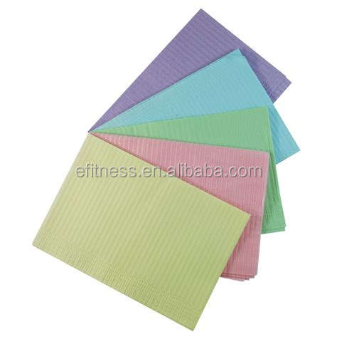 Medical Disposables Dental Bib/Wholesale Waterproof Dental Bibs 2 ply poly