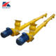 Factory price inclined cement silo auger screw conveyor system