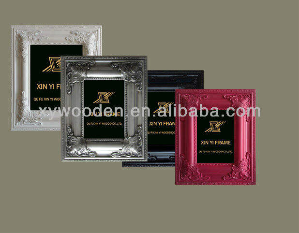 2019 funny fancy wood baroque photo picture frame