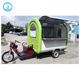 2017 variable function electric mobile food carts/electric heated food cart with motor or by trailer