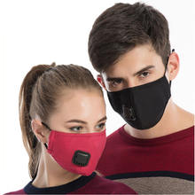 PM2.5 Cute Cotton Windproof Mouth Mask Anti Haze Dust Mask with N95 Filters