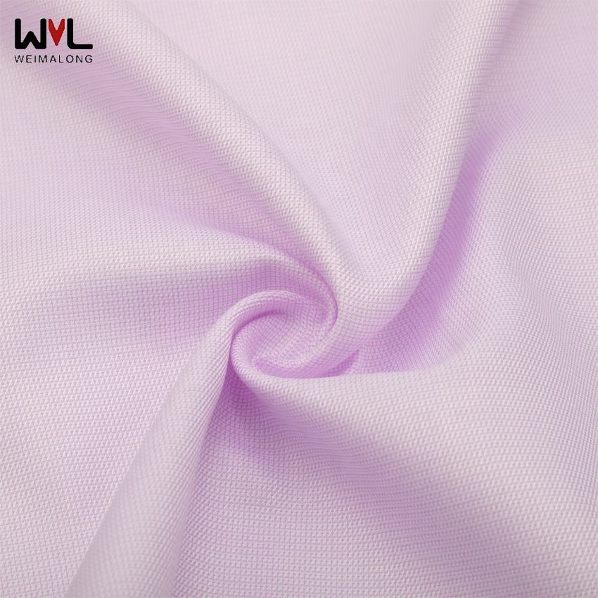 100S twin-cord cotton twill pin check fabric with business shirt