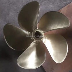 5 Blade aluminum alloy boat propeller