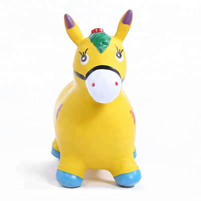 Wholesale strong quality kids jumping animal toy with painting and musical