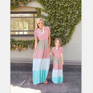 Latest family clothes set,matching outfits for mother and daughter