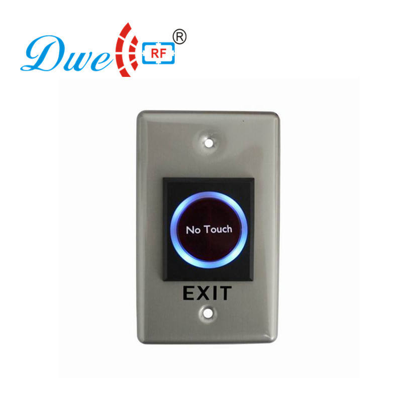 No touch IR Infrared contactless switches exit button switch with NO/NC/COM