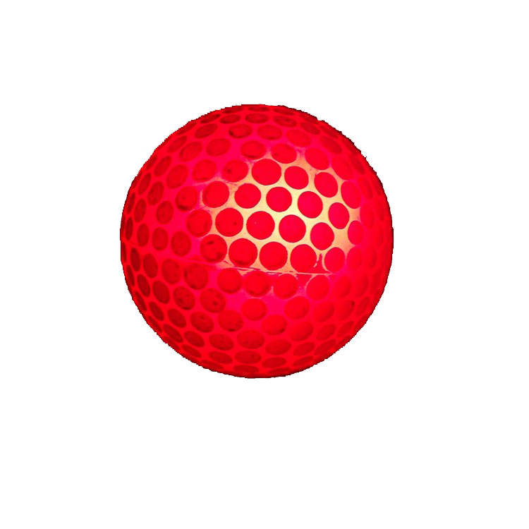 Various models Surlyn Rubber LED flash Golf ball