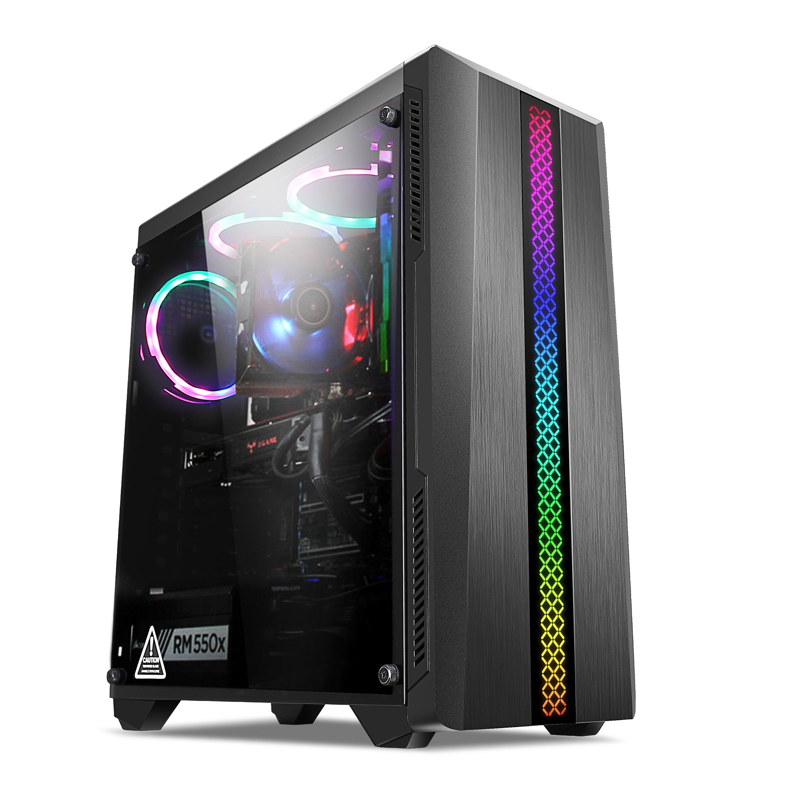 SNY M02 Tempered glass computer gaming case