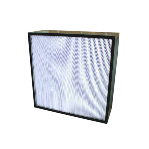 Discount Price Galvanized Frame 610*610*292mm H14 Deep Pleated Hepa Filter for Clean Room