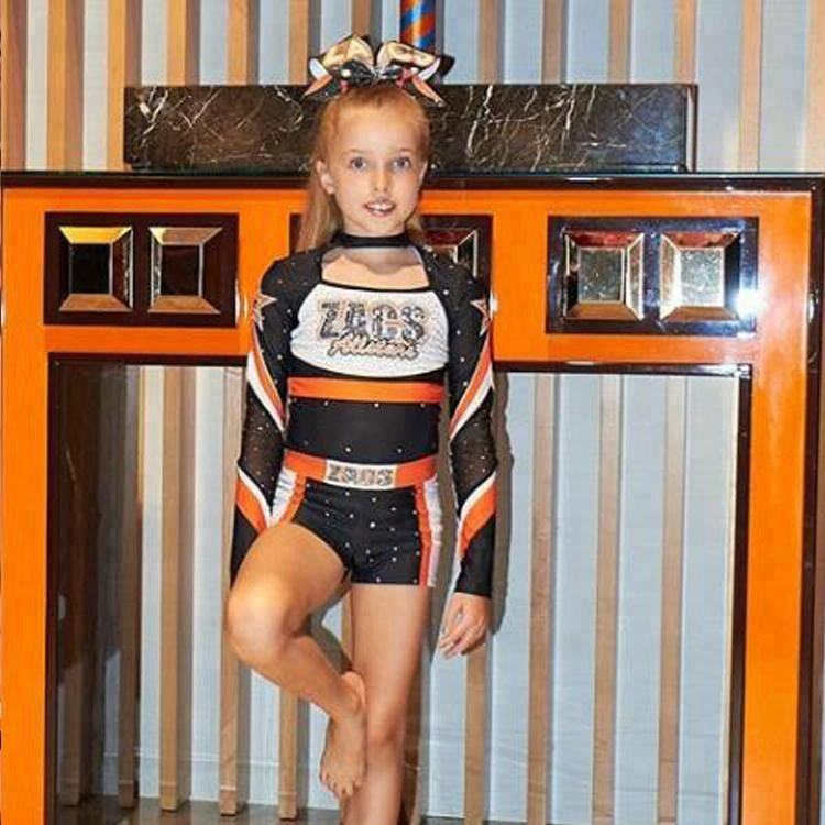 Normzl Cheer Oem di Disegno Cheerleading Uniformi Balletto Danza Cheer Costumi