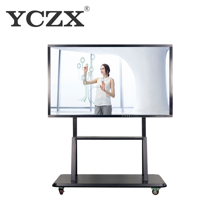 65 inch interactive touch screen LED LCD panel big screen pc
