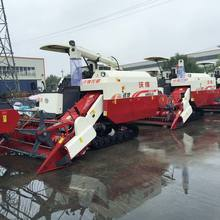 Small Paddy Used Rice Wheat Farm Machinery Combines Harvester for Sale