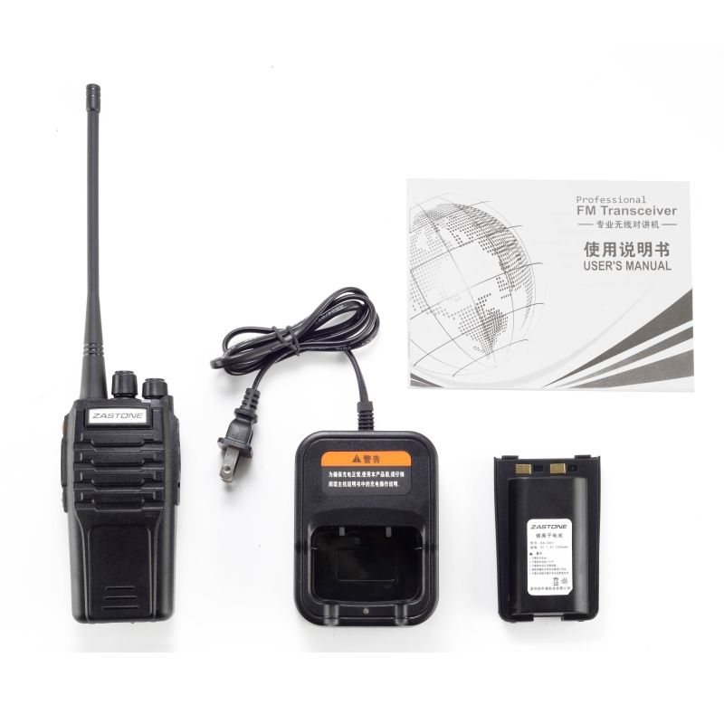 New start ZASTONE ZT-A9 VHF 136-174 mhz 10 watt long range walkie talkies walkie talkie 7 km palette