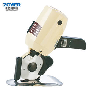 ZY100 Good Price Stock Knives Sewing Round Knife Cloth Cutting Machine