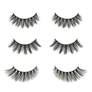 3d luxury lash wholesale wispy cat eye Korean private label trays lash invisible band private label soft full 25mm matte black