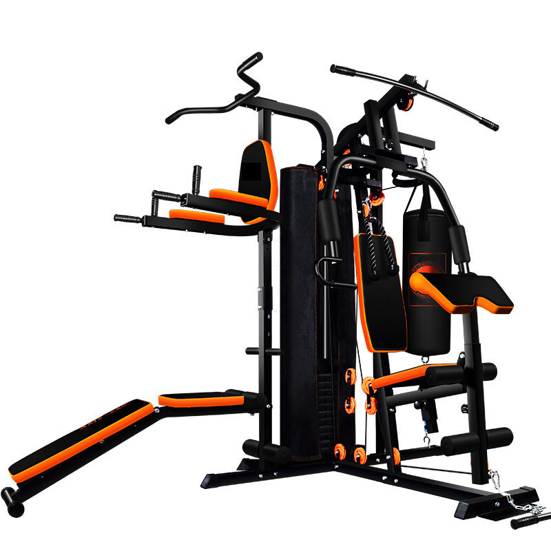 Strength Training Multi Strength Fitness Equipment Deluxe Commercial Gym 10 Stations