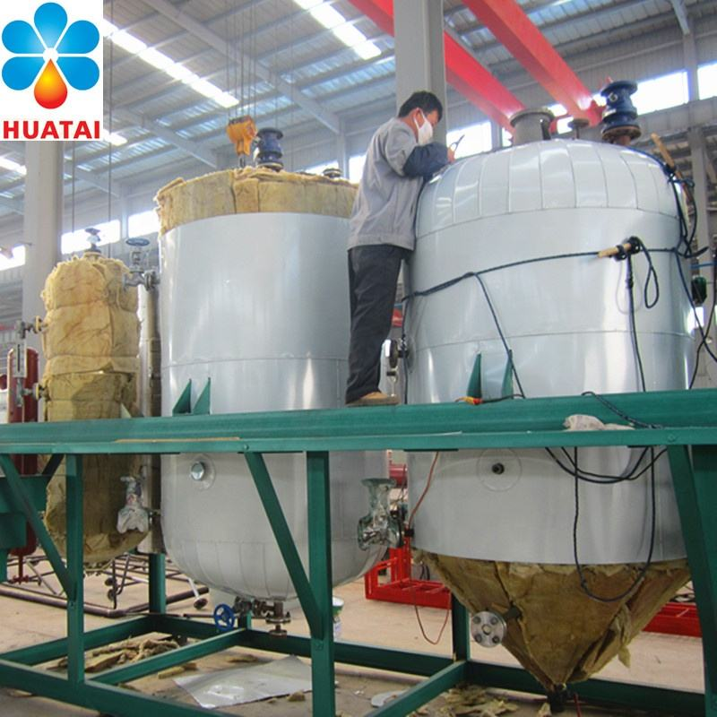 Rapeseed/Sunflower seed/cottonseed/peanut/soybean oil refining machine/crude palm oil refinery equipment